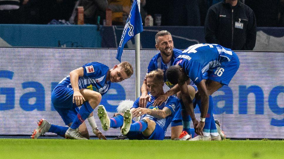 Bayern sai shokkihoitoa Herthalta