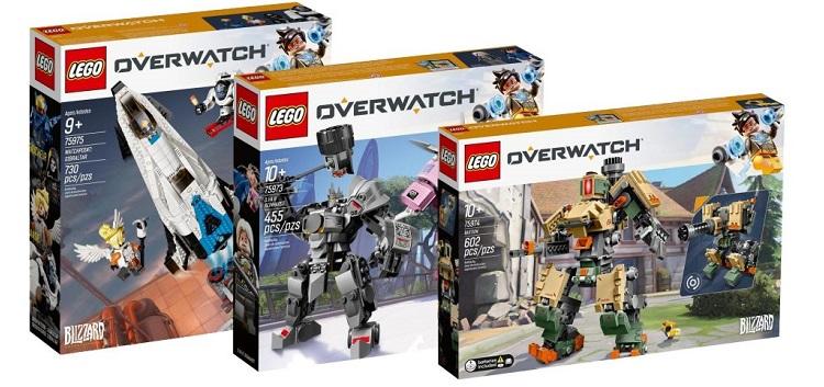Overwatch-teemaiset Lego-pakkaukset vuotaneet nettiin