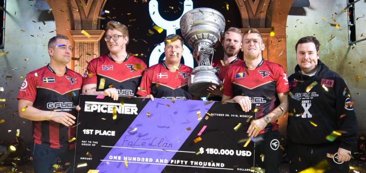 FaZe Clan Epicenter 2018 -voittajaksi