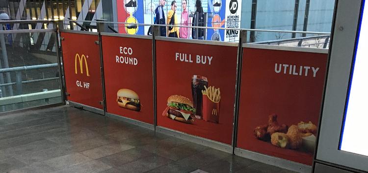 Tanskan Mäkkäri mainostaa CS:n keinoin