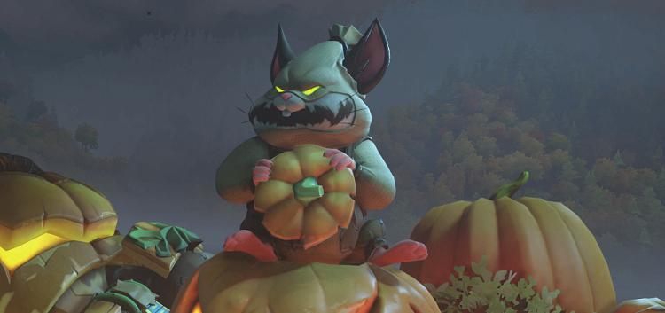 Overwatchin Halloween Terror -tapahtuma ulkona