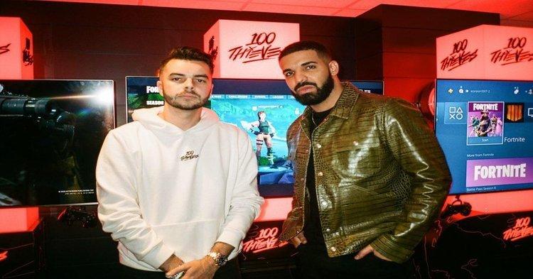 Drake ja Scooter Braun 100 Thievesin osaomistajiksi