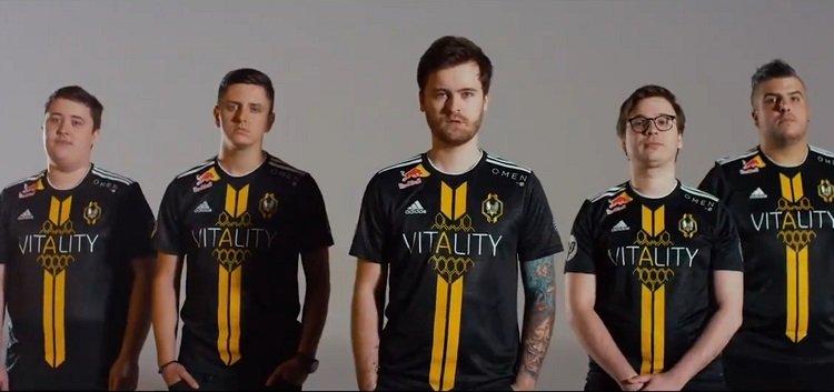 Vitality paljastaa uuden CS-joukkueensa