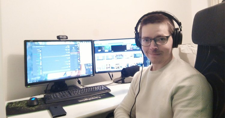 "Interview with one of Finland's most popular streamer Miika ""monniRS"" Sihvonen"