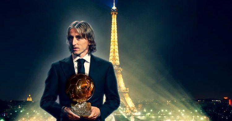 Luka Modric on 2018 Ballon d'Or voittaja