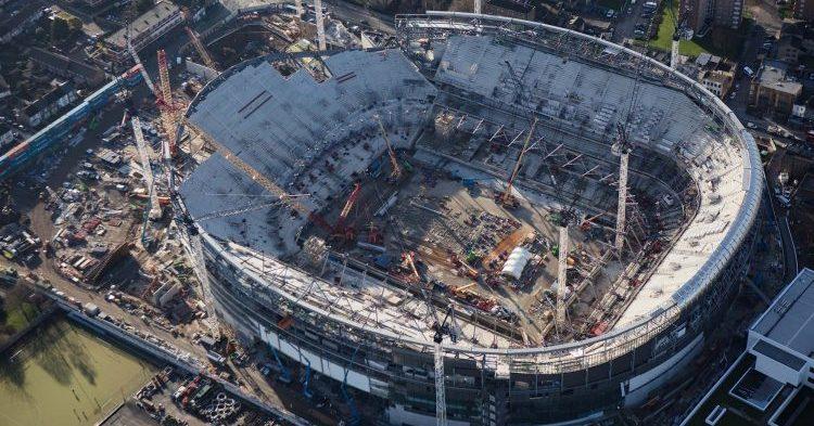 Tottenhamin stadionilla odotettu edistysaskel