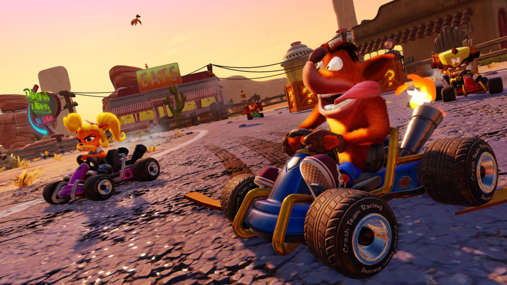 Crash Team Racing HD