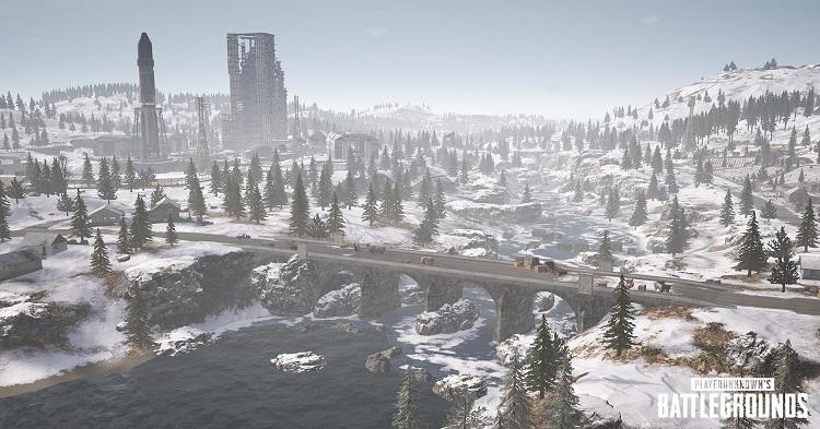 PUBG saa talviväriä uuden kartan ansiosta – Vikendi pelattavissa jo tänään testiservereillä