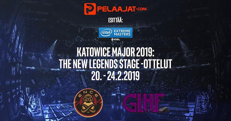 IEM Katowice 2019 – Pelaajat.com seuraa tiiviisti ENCEn menestystä twitch-kanavallaan!