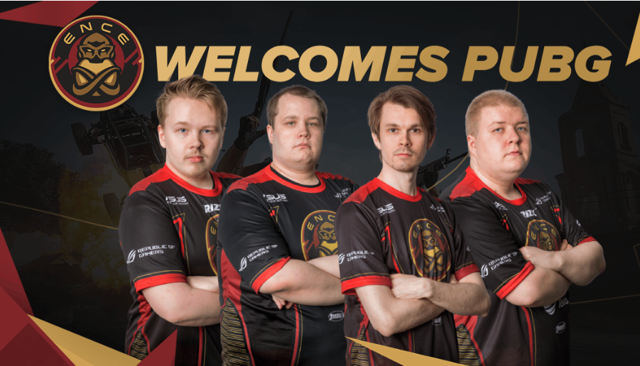 ENCE PUBG Europe League
