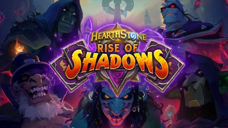 Hearthstonen uusin lisäosa, Rise of Shadows, julkaistaan tänään illalla.
