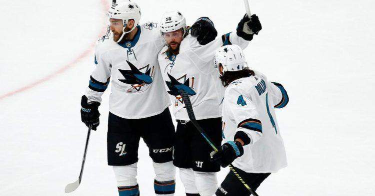 Sharks voitti Bluesin kyseenalaisella maalilla jatkoilla!