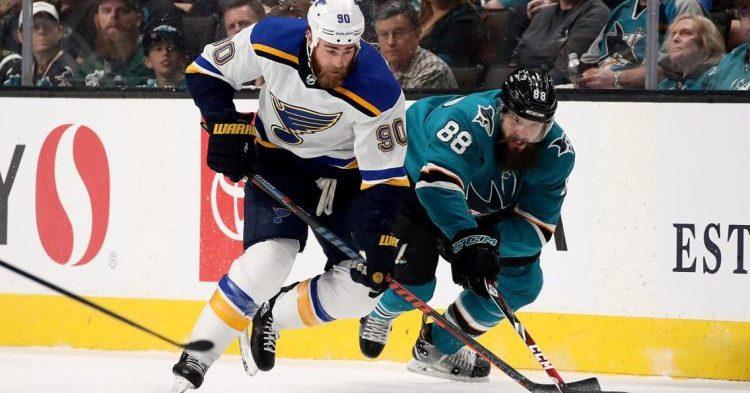 Blues tasoitti voitot Sharksia vastaan SAP Centerissä!
