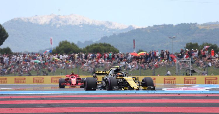 F1-sirkus rantautuu juhannuksena Ranskaan