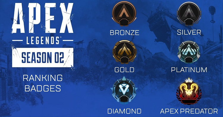 Apex Legendsin kausipalkinnot vuotivat nettiin