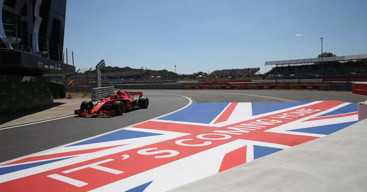 Kauden kymmenes F1 -osakilpailu – legendaarinen Silverstone