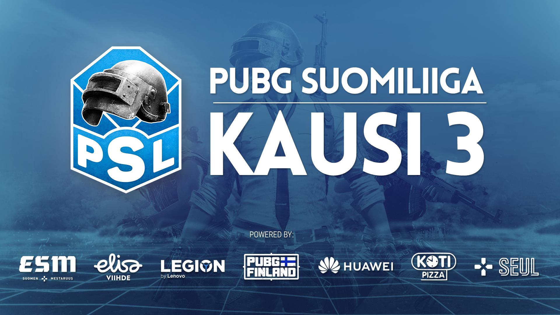 Taistelu PUBGin Suomen mestaruudesta alkaa tällä viikolla – Näin seuraat PUBG Suomiliigaa