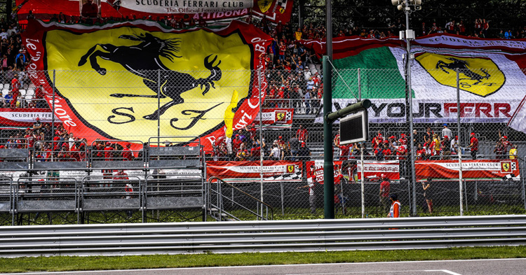 Jatkuuko Ferrarin voitttoputki Monzassa?