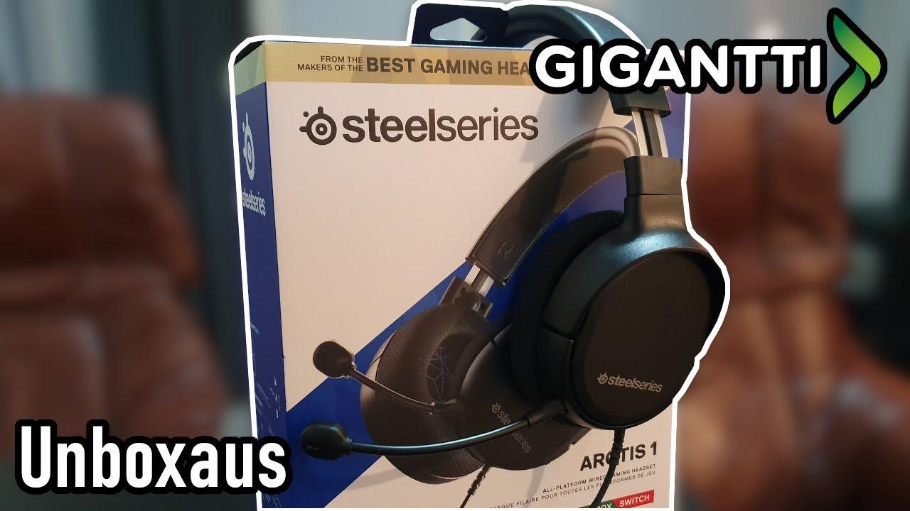 Unboxataan SteelSeries Arctis 1P headset!