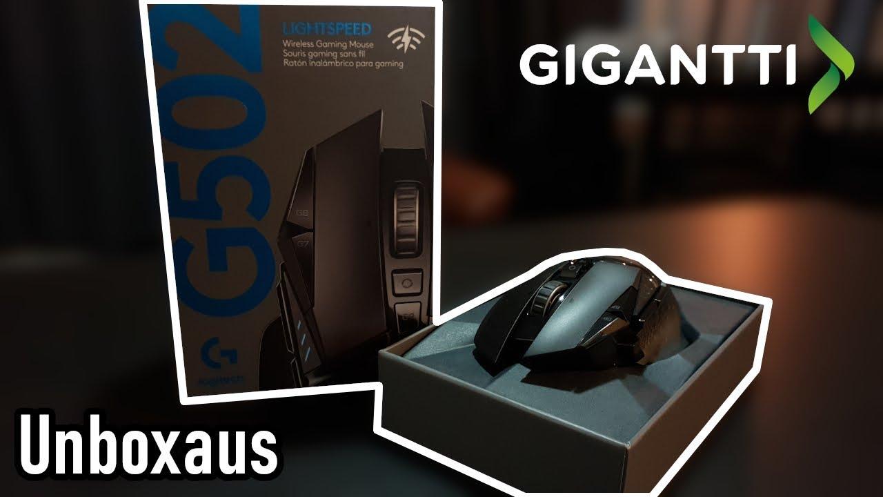 Unboxataan Logitech G502 hiiri!