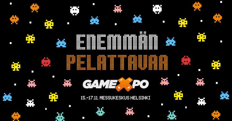Kynäriä, änäriä, PUBGia ja paljon muuta — GameXpot käynnistyvät Messukeskuksessa perjantaina
