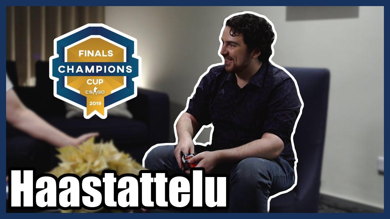 Haastattelussa selostaja MitchMan – Champions Cup Malta