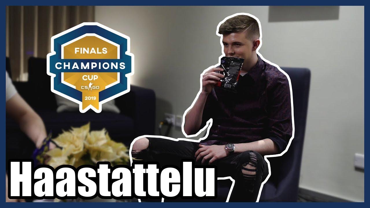 Haastattelussa selostaja DINKO – Champions Cup Malta