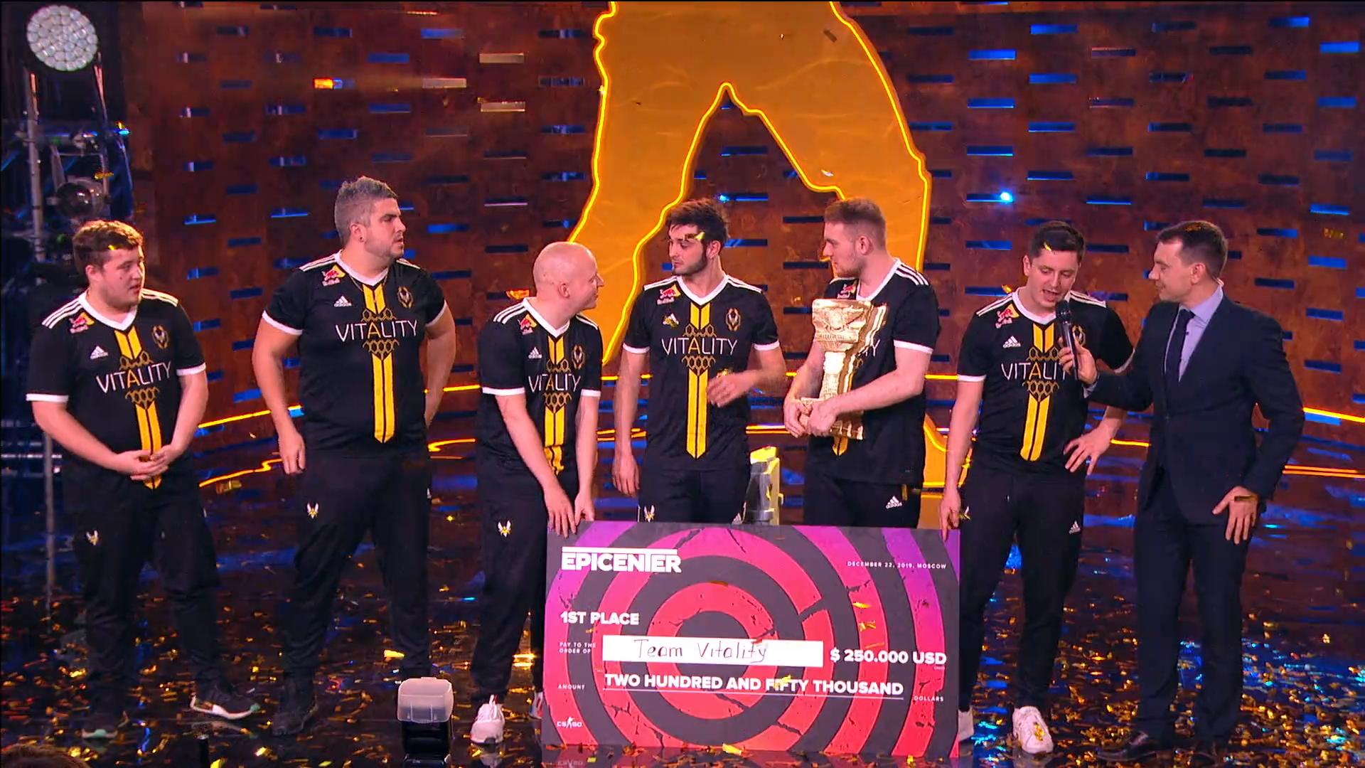 Team Vitality taisteli Epicenterin voittoon – Vain yhdestä joukkueesta oli haastajaksi