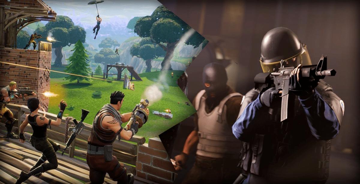 Counter-Strike: Global Offensive pian suositumpi peli kuin Fortnite?