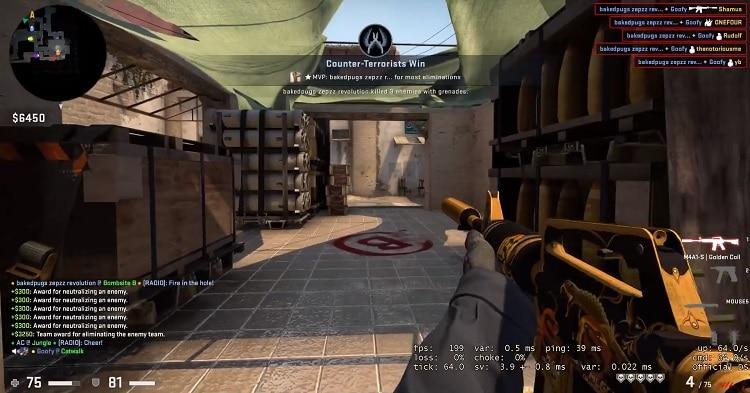 Video: Nopein 1v5-tilanne koskaan? – Counter-Strike-joukkue kaatui alle sekunnissa