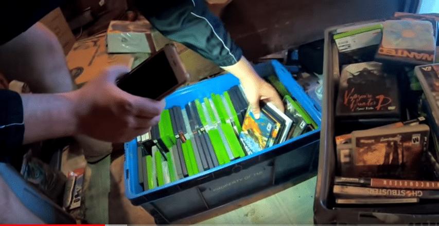Tubettajat löysivät arvokkaita peliklassikoita hylätystä talosta